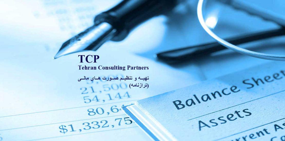 تهیه-و-تنظیم-صورت-های-مالی-(ترازنامه)-شرکت-حسابداری-موسسه-حسابداری-خدمات-حسابداری-مشاورین-تهران-و-شرکا-TCP